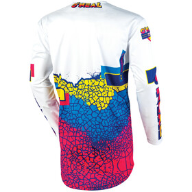 O'Neal Mayhem Maillot Crackle 91 Homme, yellow/white/blue